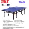 BÀN BÓNG BÀN DHS – T2024