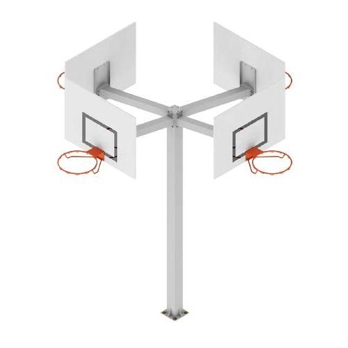 Tháp bóng rổ vuông 140x140mm - S14090GC + S14442BCN