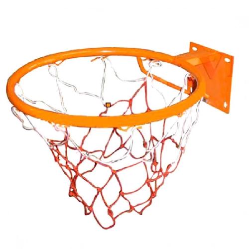 Vành bóng rổ 30cm (Cam) kèm lưới