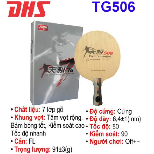 Cốt vợt  bóng bàn DHS – TG506