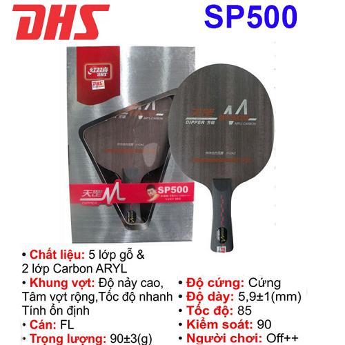 Cốt vợt  bóng bàn DHS – SP500