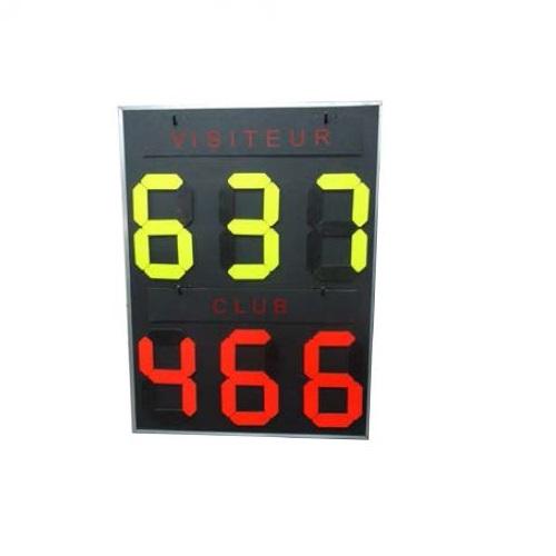 Bảng điểm tennis thi đấu 3 set -S25645