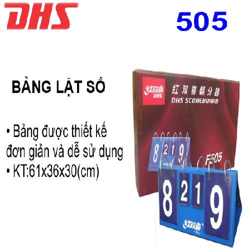 Bảng lật số  DHS – 505