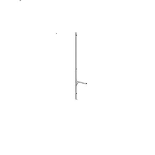 Khung ghế gắn tường có lưng và điểm gắn móc treo áo - S36055