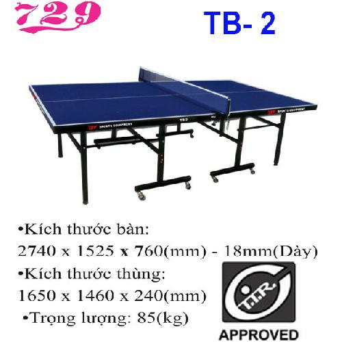 Bàn bóng bàn 729 – TB-2