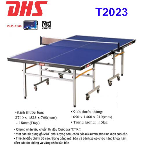 Bàn bóng bàn DHS – T2023