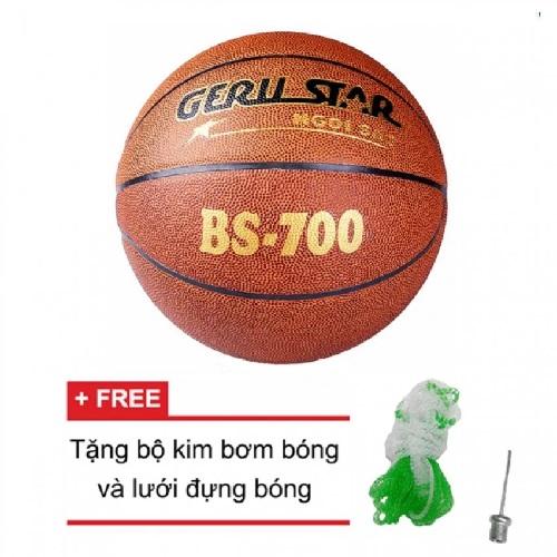 Quả bóng rổ Gerustar PVC BS-700 (Nâu)