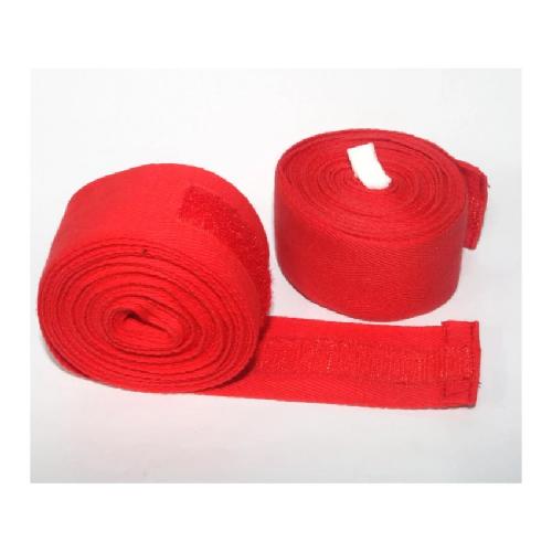 Bộ 2 cái băng cuốn tay đấm boxing (Đỏ)