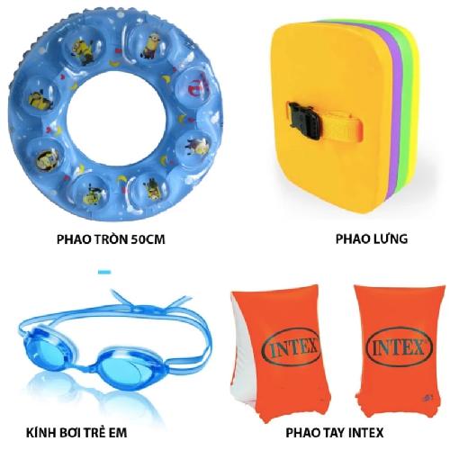 Bộ dụng cụ bơi lội trẻ em (Kính bơi
