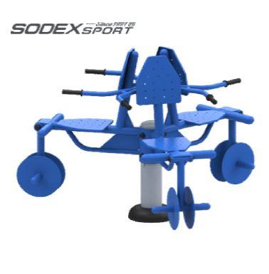 Cụm 3 ghế tập chân  S80024