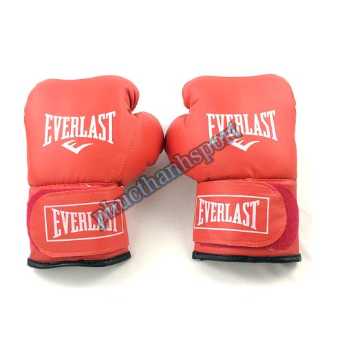 Găng đấm boxing Everlast 10oz (đỏ)