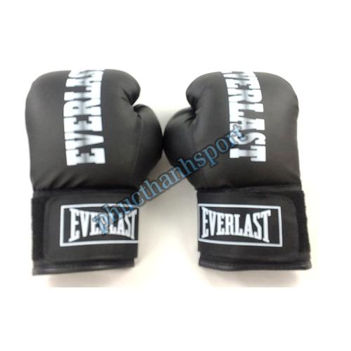 Găng đấm boxing Everlast 8oz (đen)