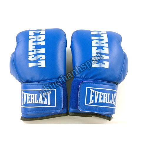 Găng đấm boxing Everlast 8oz (xanh)