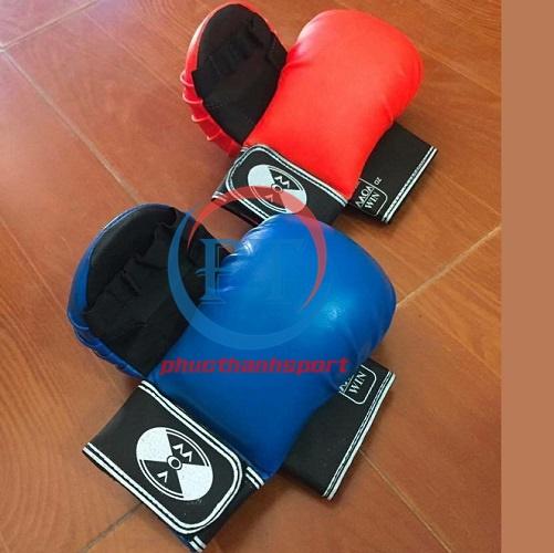 Găng tay Karate (xanh)
