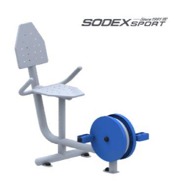Ghế tập đạp chân có lưng tựa  S80023