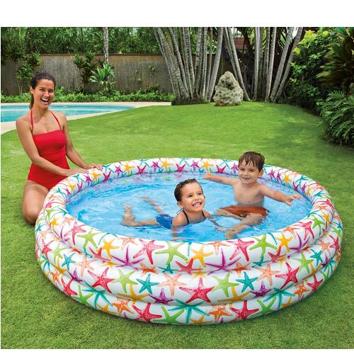 Bể bơi phao 3 tầng sao biển 1m68 INTEX 56440
