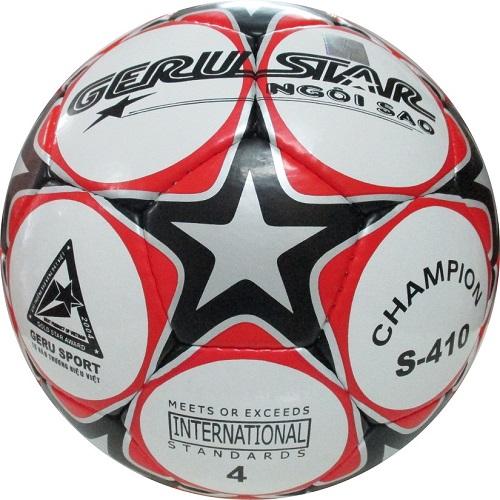 Quả bóng đá Gerustar champion số 4 khâu tay