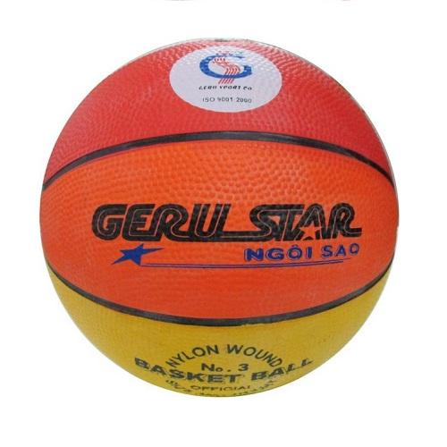 Quả bóng rổ cao su Gerustar số 3 (8 màu)