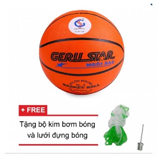 Quả bóng rổ gerustar số 6 (Cam)