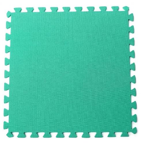 Bộ 4 tấm thảm chơi cho bé 60 x 60 x 1cm (Xanh lá)