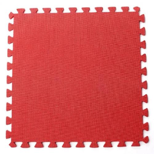 Bộ 4 tấm thảm chơi cho bé 50 x 50 x 1cm (Đỏ)