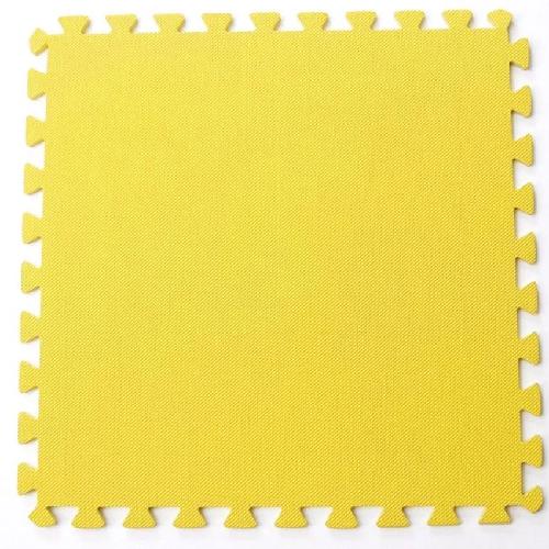 Bộ 4 tấm thảm chơi cho bé 50 x 50 x 1cm (Vàng)