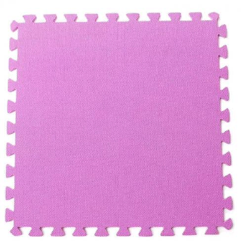 Bộ 4 tấm thảm chơi cho bé 50 x 50 x 1cm (Hồng)