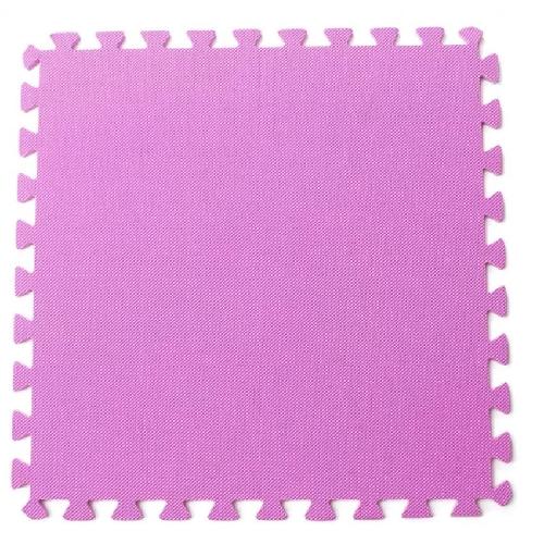 Bộ 4 tấm thảm chơi cho bé 60 x 60 x 1cm (Hồng)