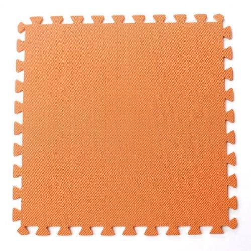 Bộ 4 tấm thảm chơi cho bé 50 x 50 x 1cm (Cam)