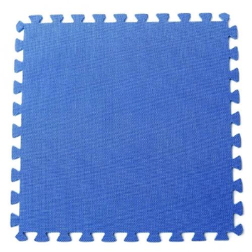 Bộ 4 tấm thảm chơi cho bé 60 x 60 x 1cm (Xanh dương)