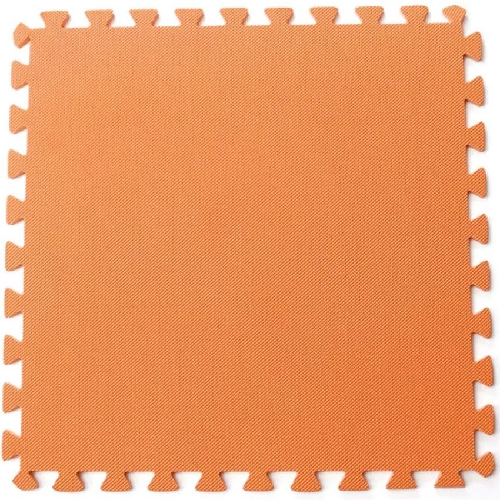 Bộ 4 tấm thảm chơi cho bé 60x60x1cm (Cam)